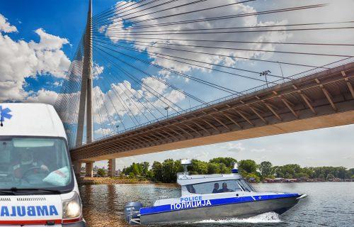 Tinejdžer (16) SKOČIO sa Mosta na Adi: Rečna policija brzo intervenisala, HITNO prebačen u Tiršovu