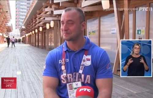 Srpski olimpijac se rasplakao u programu RTS-a: Slomile su ga emocije, nije mogao da obuzda suze (VIDEO)