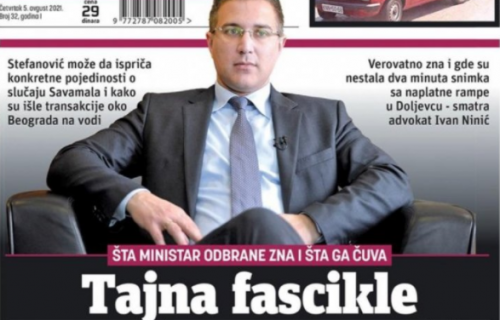 Stefanović postao glavna uzdanica medija pod kontrolom Đilasa (FOTO)
