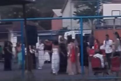 Cela Podgorica u ŠOKU zbog ovog snimka svadbe: Na igralištu iza kuće se desio pravi HAOS (VIDEO)