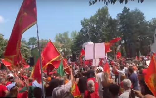 Crnogorci se SPREMAJU za NEREDE: Na protestu zbog ustoličenja Joanikija bilo 4.000 ljudi