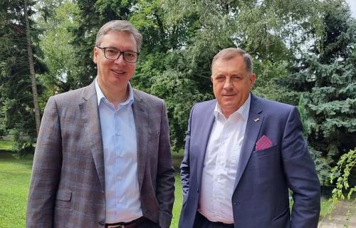 """Vučić zna moje mišljenje"": Dodik nakon zagovora sa predsednikom progovorio o ključnom pitanju za Srpsku"