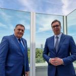 Predsednik Vučić danas sa Miloradom Dodikom u Beogradu: Tema - novi udar na Banjaluku