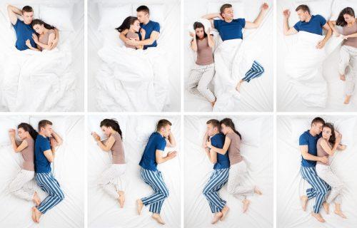 Leđa o leđa ili svako na svojoj strani kreveta: Šta položaji u kojima spavate otkrivaju o vašoj vezi?