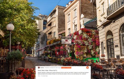 Turista pitao gde može da pojede RIBU: Srbi mu dali NEVEROVATNE odgovore (FOTO)