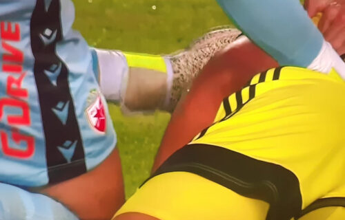 Dramatična scena: Igrač Šerifa pao na travu, Borjan pomislio na ono najgore i odmah mu pritrčao (VIDEO)