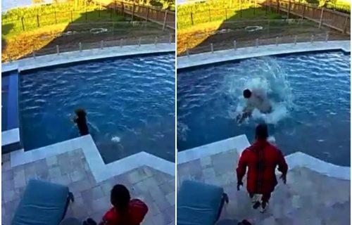 Drama u kući čuvenog košarkaša: NBA as spasio sina od sigurnog davljenja u bazenu (VIDEO)