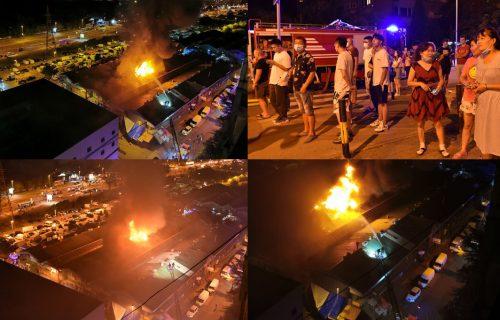 KATASTROFA preti Bloku 70! BUKNUO još jedan veliki plamen: Detalji požara na Novom Beogradu (FOTO+VIDEO)