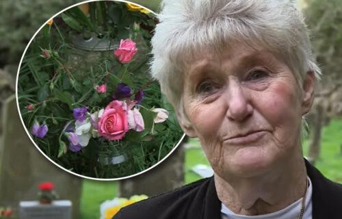 """Posle 70 godina otkrila ko donosi cveće na GROB njenog brata koji se utopio: """"Ovo je pravo ČUDO"""" (VIDEO)"""