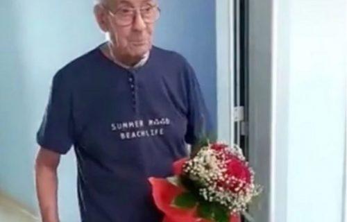 Čekao devet meseci da vidi ženu u bolnici: Kada su mu je pokazali, nije mogao da zaustavi SUZE (VIDEO)