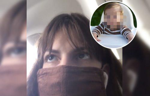 """Snimak ZGROZIO Srbiju! Devojka na JECAJE deteta prevrtala očima: """"Treba ih staviti u prtljag"""" (VIDEO)"""