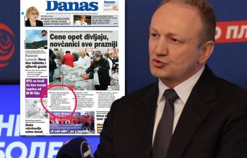 Đilasovi lažovi! Histeričnim naslovnicama obmanjuju narod, zvanični podaci DEMANTOVALI sve (FOTO)