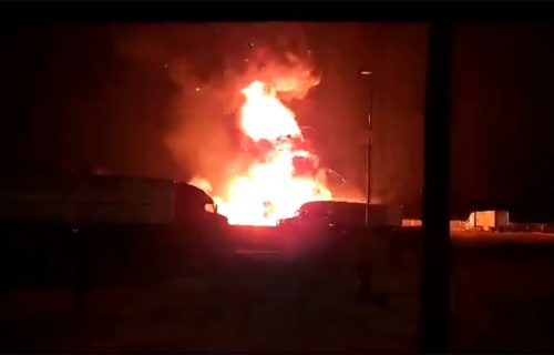 Eksplozija kamiona UZNEMIRILA građane: Niko ne veruje šta je prevozio u prikolici (VIDEO)