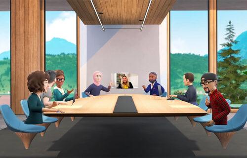 Virtuelni sastanci u režiji Facebooka: Vaše kolege zameniće likovi iz crtaća (VIDEO)