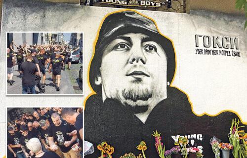 """""""Bog neka SUDI onima koji su ga ubili"""": Goksijeva porodica održala pomen, prijatelji SKANDIRALI (FOTO)"""