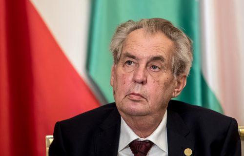 Oglasili se Zemanovi lekari: Evo u kakvom se STANJU nalazi češki predsednik