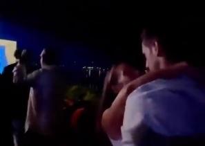 Uhvaćen momenat strasti Novaka i Jelene Đoković: Poznati pevač podelio hit snimak iz Budve (VIDEO)