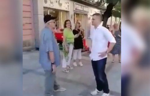 """Jeremić u Valjevu prošao """"kao bos po trnju"""": Simpatični deka mu OČITAO LEKCIJU (VIDEO)"""