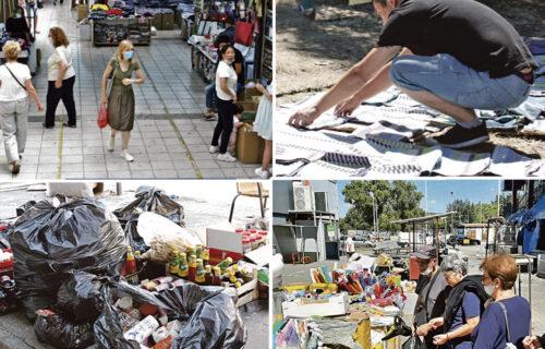 """""""Sve što sam imao mi je u TRENUTKU nestalo"""": Objektiv u poseti izgorelom tržnom centru u Bloku 70 (FOTO)"""