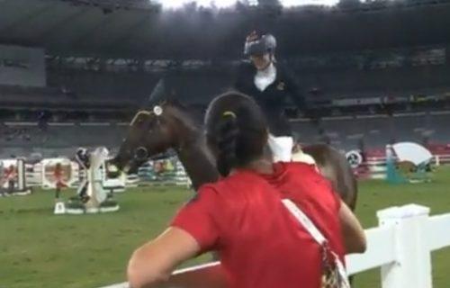 Nemica suspendovana s OI u Tokiju, a razlog je nestvaran: Tukla je konja usred takmičenja! (VIDEO)