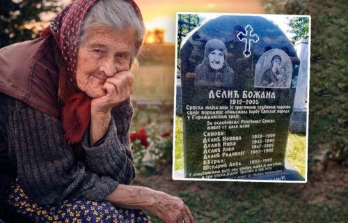 Srpska majka HEROJ: Božana je ostala bez dece i unuka, a prizor sa njenog groba SLAMA srca (FOTO)