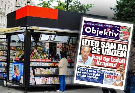 Danas u novinama Objektiv: Ispovest komandanta Vojske RSK, Damir Mikec o izbeglištvu (NASLOVNA STRANA)