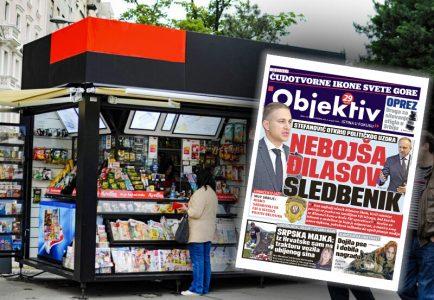Sutra u novinama Objektiv: Nebojša Đilasov sledbenik, droga za silovanje došla u Srbiju (NASLOVNA STRANA)