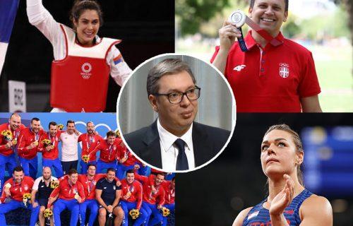 """""""Izuzetan uspeh smo postigli"""": Vučić ponosan na olimpijce, pa otkrio kolike im nagrade slede od države"""