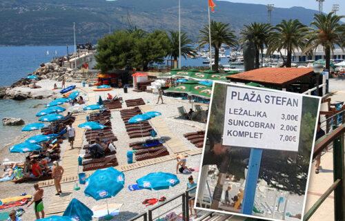 O čemu se ovde radi? Slika sa crnogorske plaže ZAPALILA mreže: Jedni zbunjeni, drugi BESNI (FOTO)