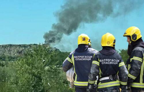 DRAMA u Novom Sadu: Izbio POŽAR na deponiji, gust crn dim ide prema gradu (VIDEO)