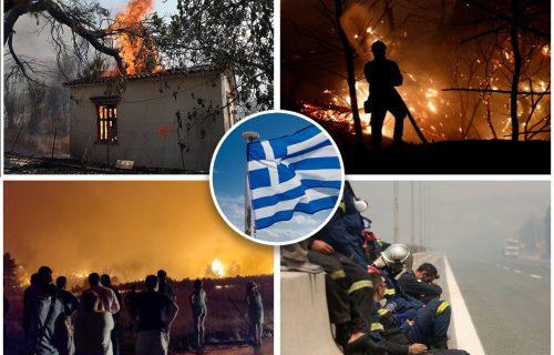 DRAMA u Grčkoj: Evakuisani srpski turisti, ljudi beže na trajekte - vetar RAZNOSI plamen
