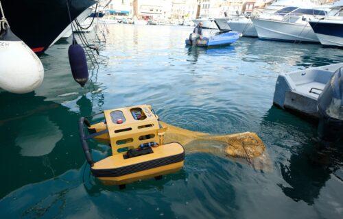 Upoznajte robota koji se HRANI otpadom: Pomaže da more bude čistije (VIDEO)
