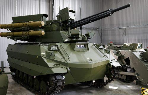 Rusija želi robotizovani PVO sistem za odbranu tenkova i oklopnih vozila (VIDEO)