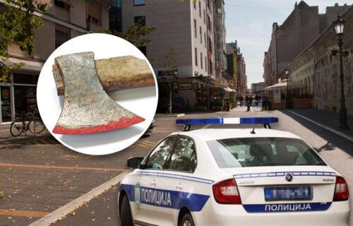 TUČA u Novom Sadu zbog parking mesta: Muškarac potegao i SEKIRU, priveden je