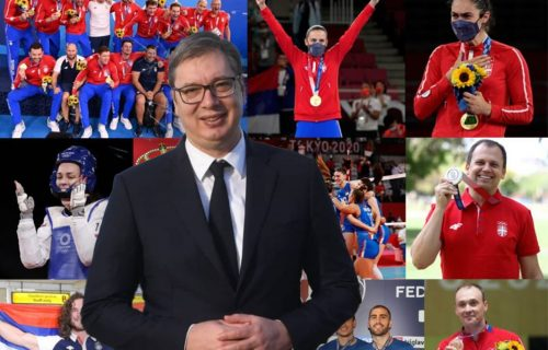 Doček za srpske ŠAMPIONE: Predsednik Vučić sutra s osvajačima medalja na Olimpijskim igrama