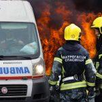 DRAMA na Novom Beogradu: GORI automobil, saobraćaj blokiran