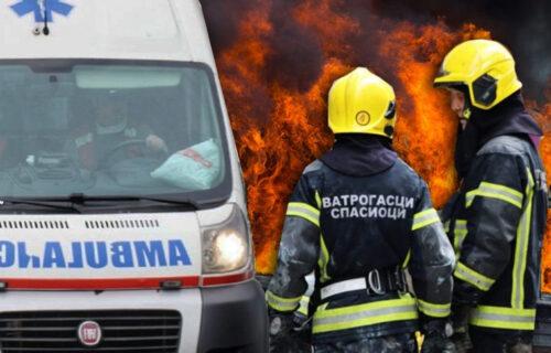 Drama u Novom Sadu: Izbio POŽAR u stambenoj zgradi, stanari odmah EVAKUISANI (FOTO)