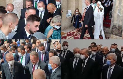 """Erdogan SVEDOČIO, pa sa Bakirom """"pod ruku"""" stigao u hotel: Jasmina Izetbegović sklopila ŠERIJATSKI brak"""