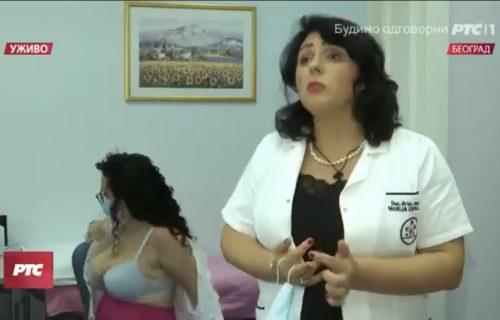 Striptiz UŽIVO na RTS! Doktorka pričala o vakcini, a onda joj se BUJNA koleginica počela skidati! (VIDEO)