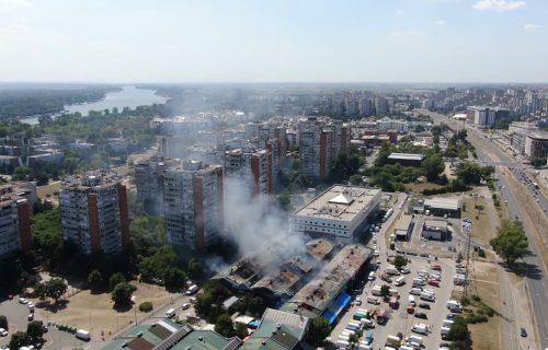 Požar progutao Kinezima MILIONE evra! Vlasnici lokala u Bloku 70 izračunali štetu: Sve smo IZGUBILI