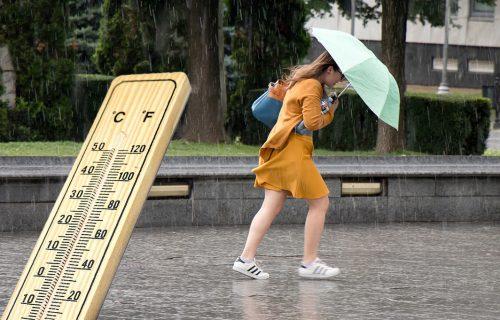 Objavljena NAJNOVIJA prognoza: Čeka nas pad temperature za 10 stepeni, a evo kada stižu oluja i PLJUSKOVI