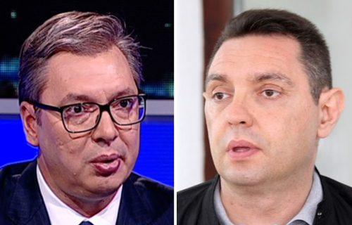 """Predsednik Vučić o napadima na ministra Vulina: """"Mi znamo ko mesecima traži njegove slike"""""""