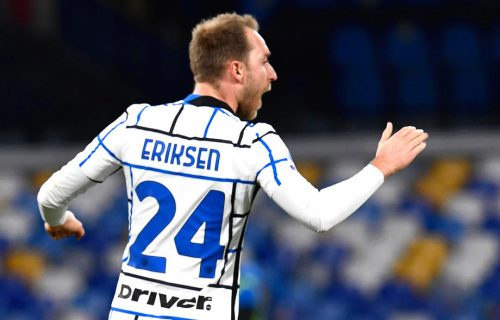 Eriksen se pojavio na treningu, Inter se odmah oglasio (FOTO)