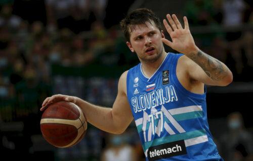 Tukli su šampiona sveta: Luka Dončić predvodio Sloveniju u trijumfu nad Španijom