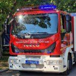 POŽAR u Zaječaru: Građani u panici, gusti dim se nadvio nad gradom