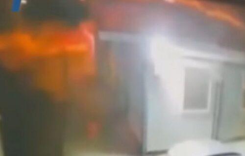 JEZIV SNIMAK požara u bolnici u Tetovu: Ljudi iskaču kroz prozor, vatra se raširila za dva minuta (VIDEO)