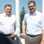 Srpski narod PAMTI: Predsednik Vučić završio razgovor sa Dodikom o izgradnji memorijalnog centra (FOTO)