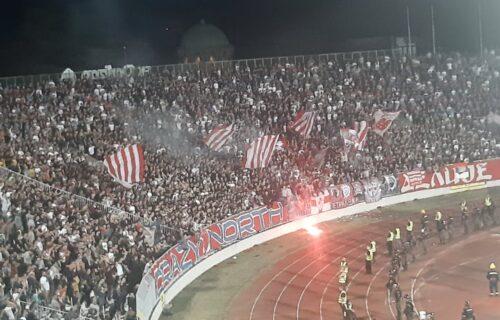 """""""Delije"""" ponizile """"grobare"""" u njihovoj kući: Scena sa severa koju navijači Partizana nisu želeli da vide"""