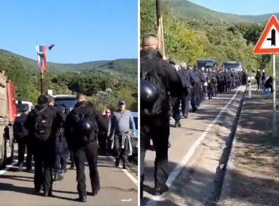SRPSKA se truba sa Kosova čuje: Ovom pesmom su sa administrativnog prelaza Srbi ispratili ROSU (VIDEO)