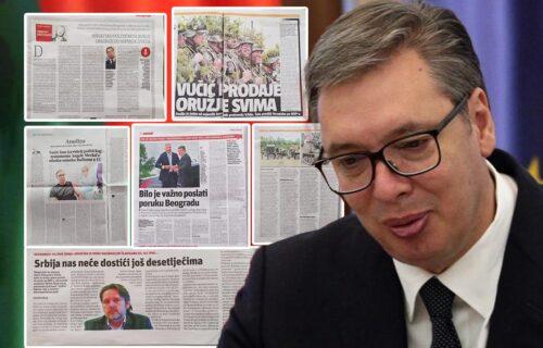 Ludilo hrvatskih medija! Bolesna KAMPANJA ustaša protiv Vučića: I njihovi čitaoci se čude: Dokle više?!